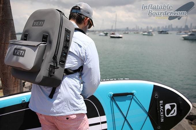 YETI Panga Backpack 28 with Paddle Board