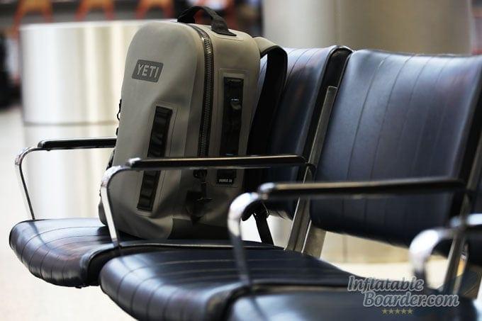 YETI Panga Backpack at Airport