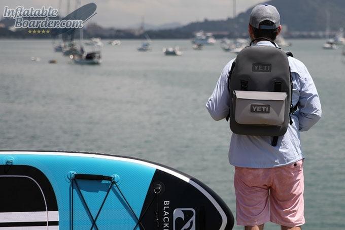 YETI Panga Backpack Paddleboarding