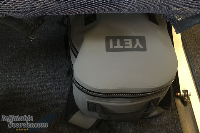 YETI Panga Backpack Under Plane Seat