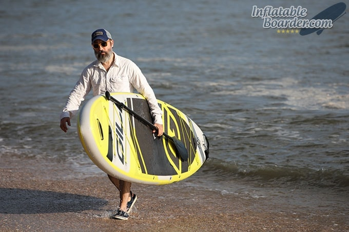 Carrying GILI Inflatable SUP
