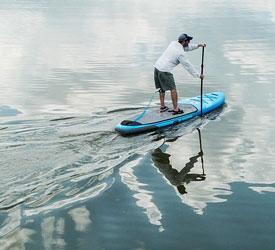 """GILI 10'6"""" AIR Paddle Board"""