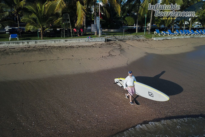 Stand Up Paddleboarding Beach