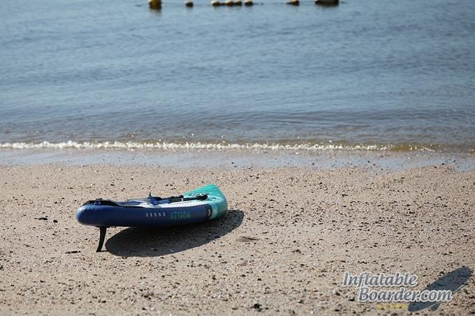 iSUP on Beach