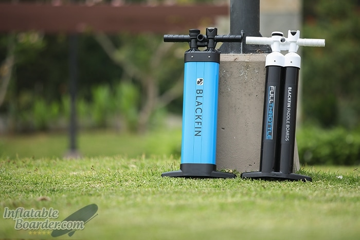 2018/2019 BLACKFIN SUP Pump Comparison