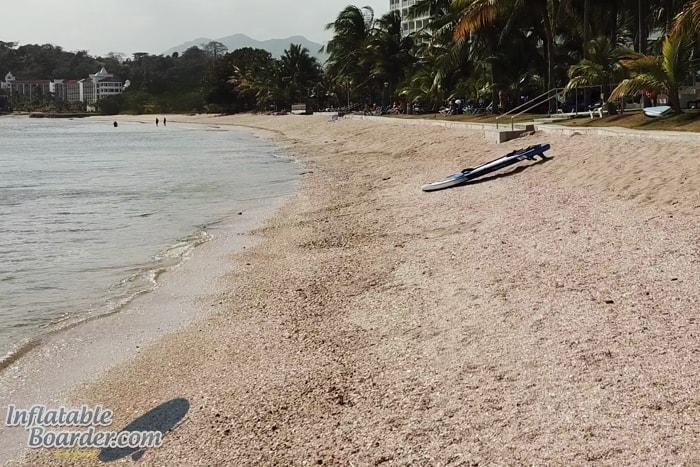 BLACKFIN SUP on Beach