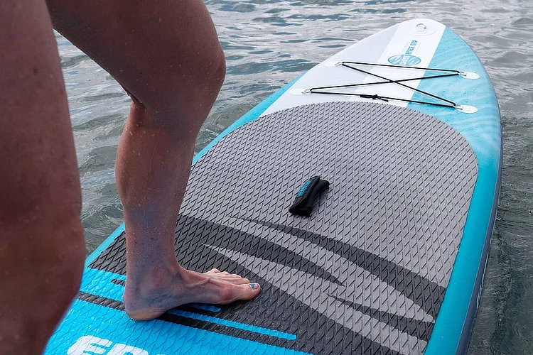 """Earth River SUP 9'6"""" V3 Surfing Waves"""