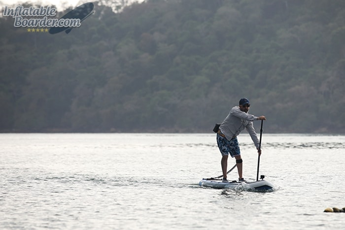 Inflatable SUP Stability