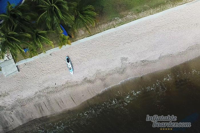 Model V on the Beach