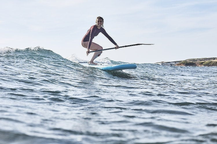 """Surfing Red Paddle 8'10"""" Whip"""