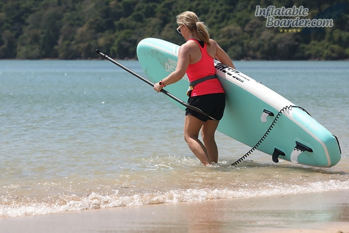 "Carrying THURSO SURF Waterwalker 10'6"""