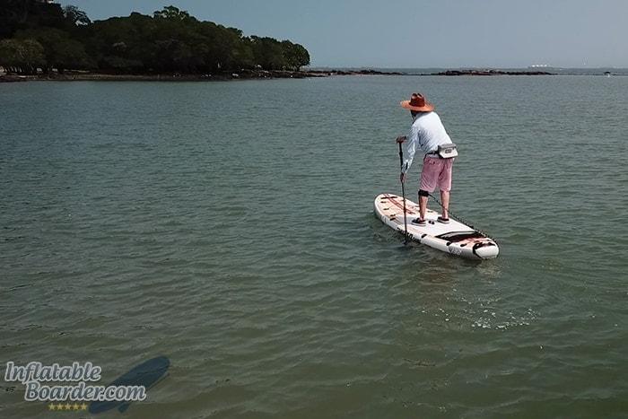 Paddling SUP Mangroves