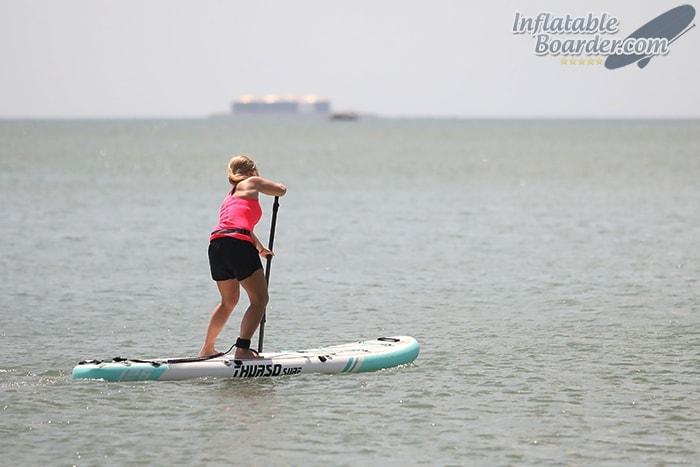 Paddling THURSO Waterwalker 126
