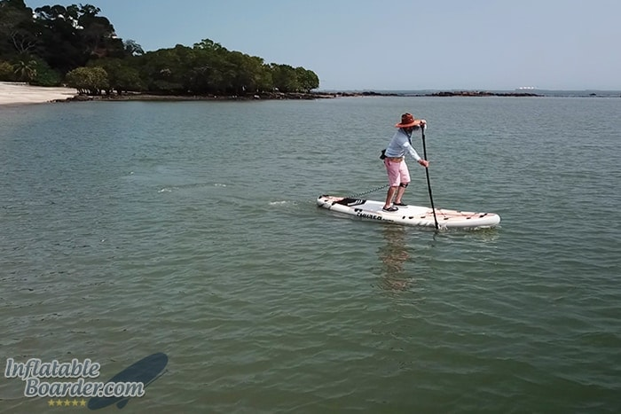 Paddling THURSO WW132 Inflatable SUP