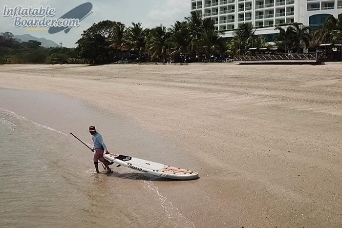 Pulling THURSO Waterwalker 11'