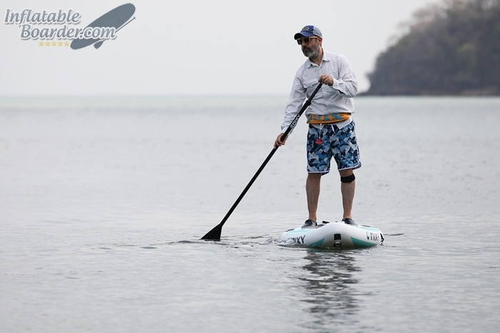Inflatable SUP Stiffness