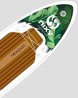 NIXY Newport Palm SUP
