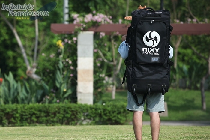 Wearing NIXY SUP Backpack