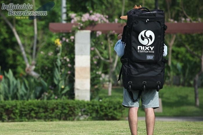 Wearing NIXY SUP Backpack