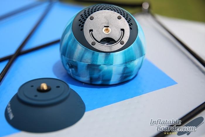 BLACKFIN Bluetooth Speaker Bottom
