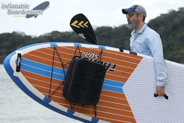 Carrying THURSO SURF Max Board