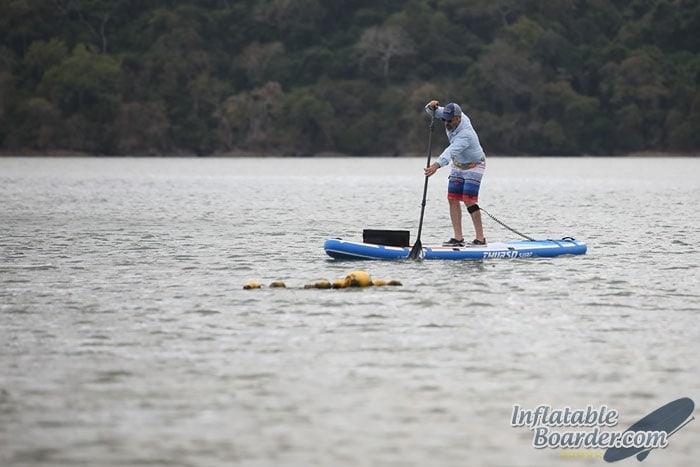 Paddling THURSO Inflatable SUP Board