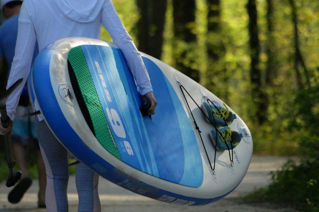 2019 Earth River SUP 9-6 SKYLAKE GREEN