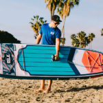Carrying 2019 ISLE Pioneer Inflatable SUP