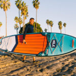 Carrying ISLE Surf & SUP Explorer 11'