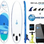 Earth River SUP 10-7 SKYLAKE BLUE Accessory Bundle