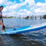 Earth River SUP 10-7 SKYLAKE BLUE Pivot Turn