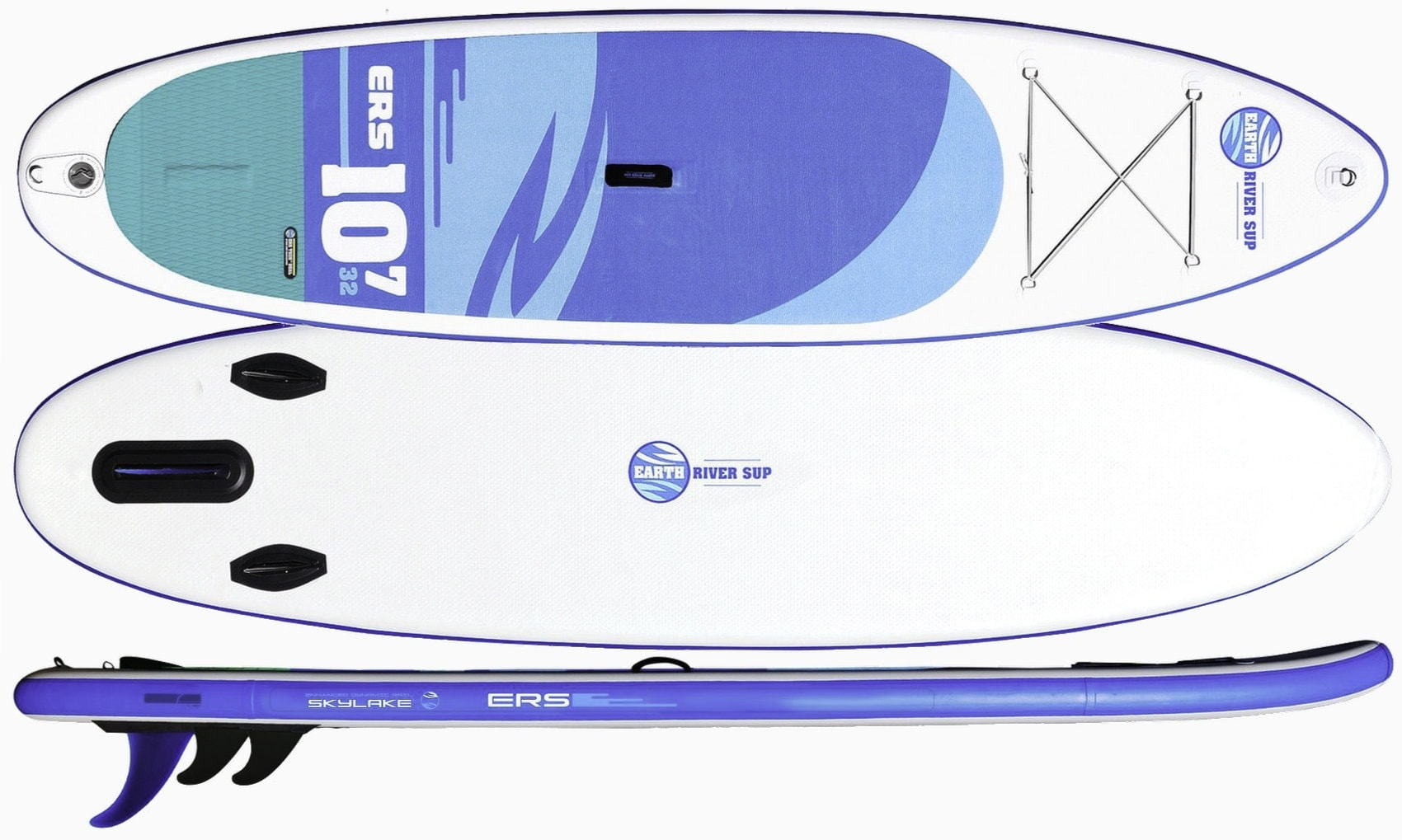 Earth River SUP 10-7 SKYLAKE BLUE