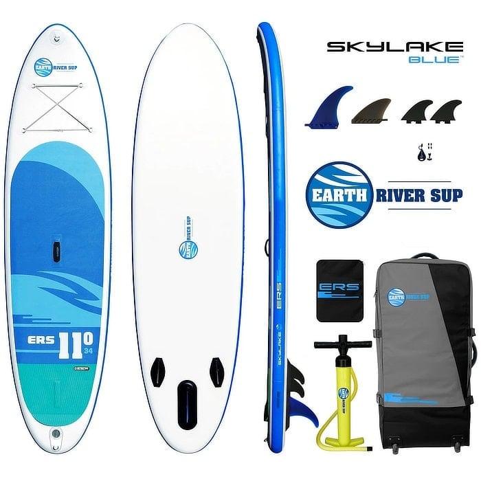 Earth River SUP 11-0 SKYLAKE BLUE Board