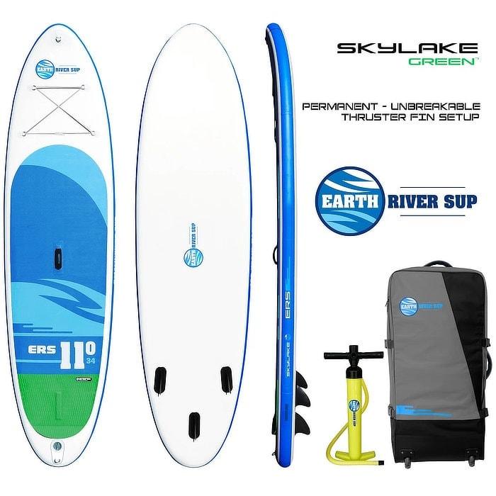 Earth River SUP 11-0 SKYLAKE GREEN Board