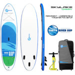 Earth River SUP 11-0 SKYLAKE GREEN Package