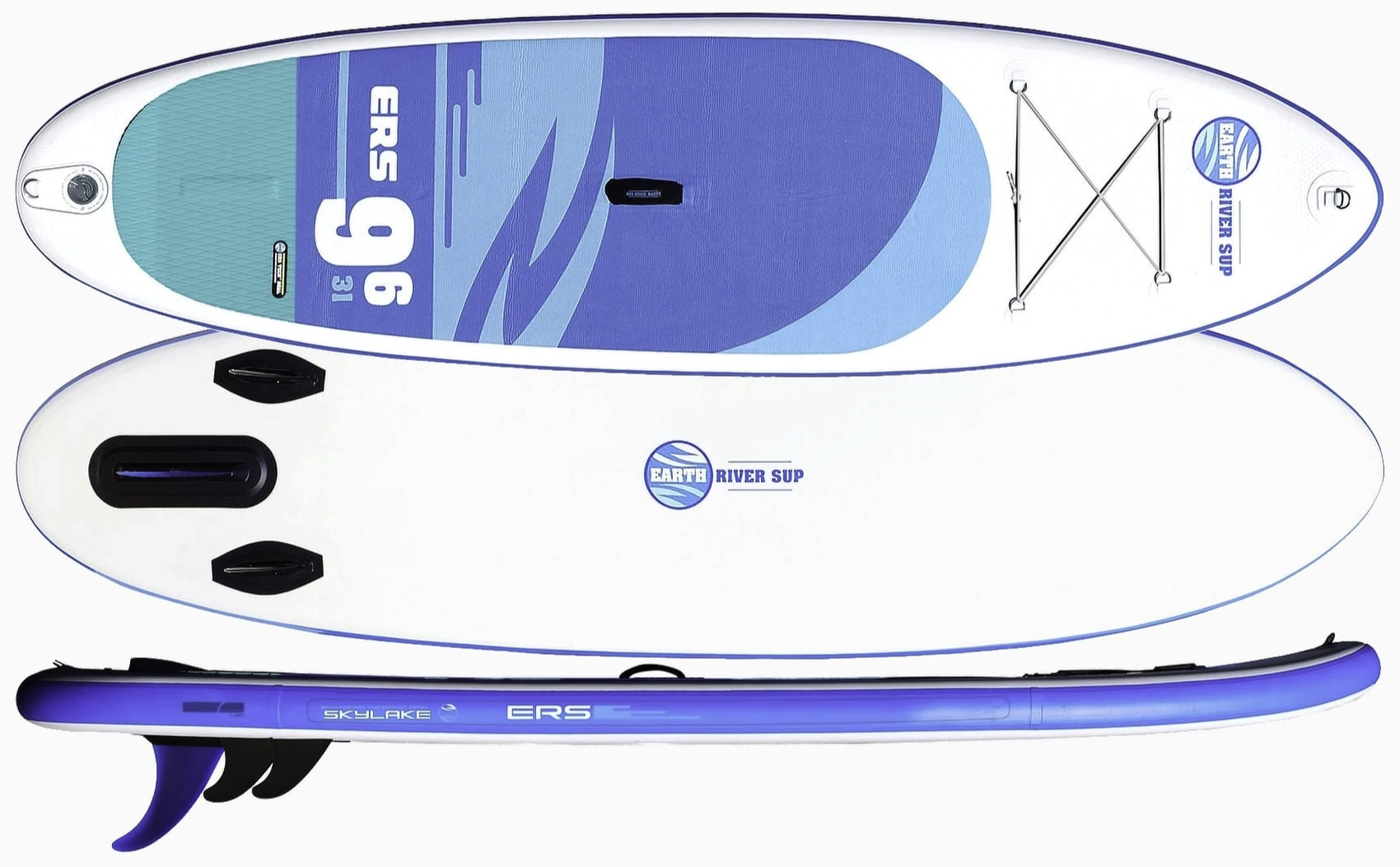 Earth River SUP 9-6 SKYLAKE BLUE
