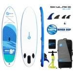 ERS 9-6 SKYLAKE BLUE iSUP Package