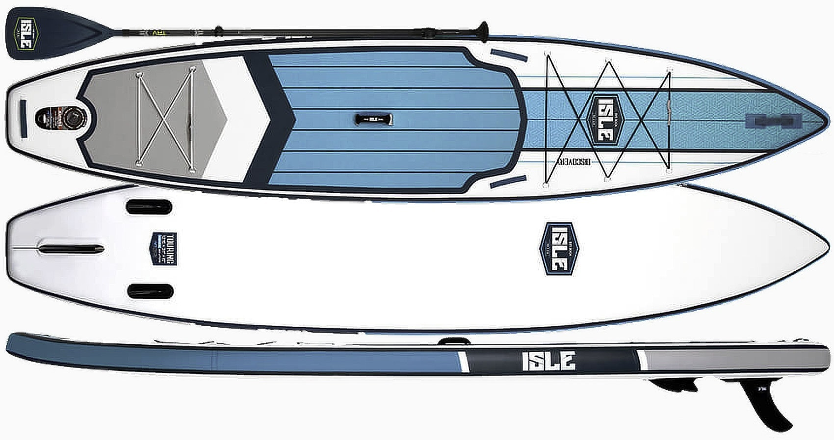 ISLE Discovery Inflatable Touring SUP