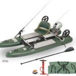 Sea Eagle SUP Cat 10 Motor Package