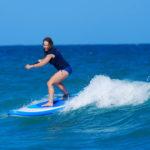Woman Surfing 9-6 SKYLAKE BLUE SUP