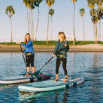 Women Paddling ISLE Scout iSUPs