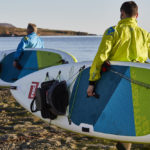Carrying Red Paddle Voyager+ Inflatable Paddle Board