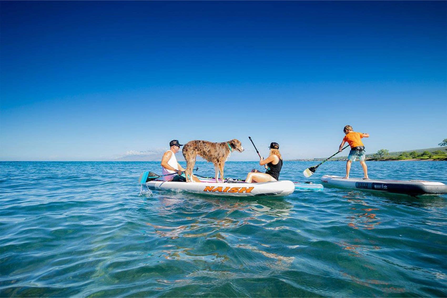 """Naish Nalu 10'6"""" Inflatable Paddle Board"""