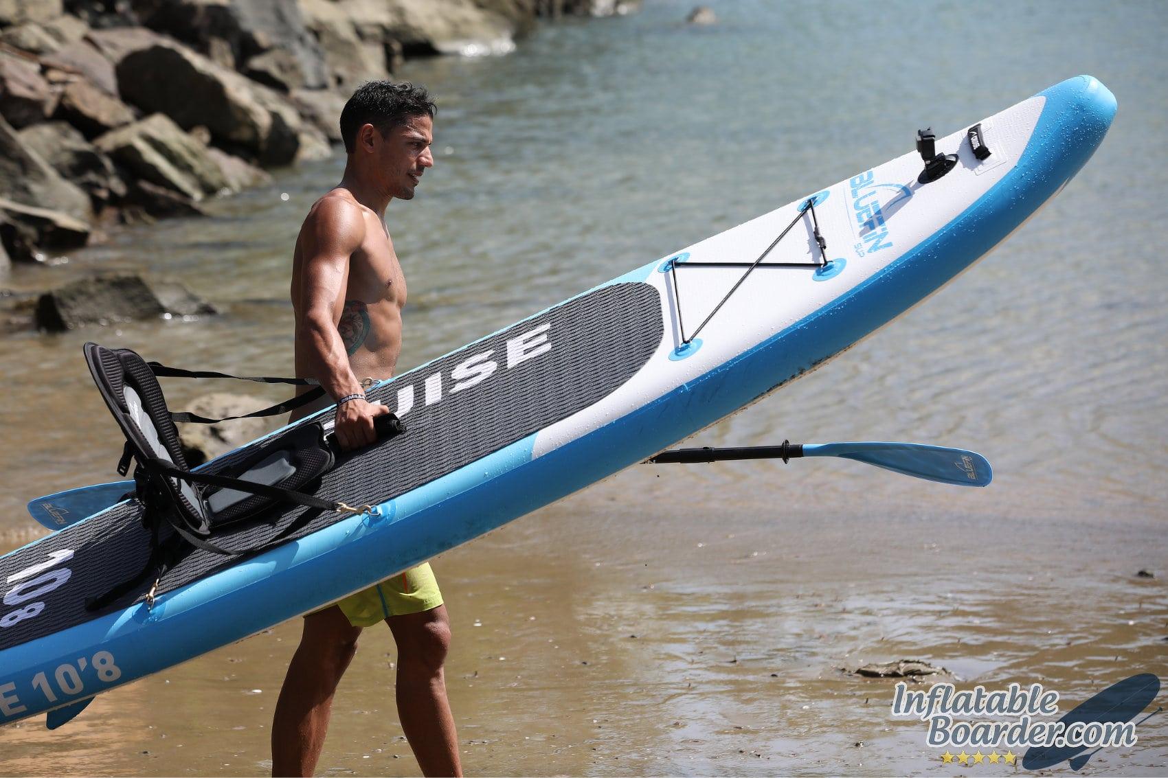 Bluefin SUP Cruise Beach