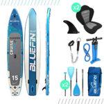 Bluefin SUP Cruise Carbon 15' Bundle