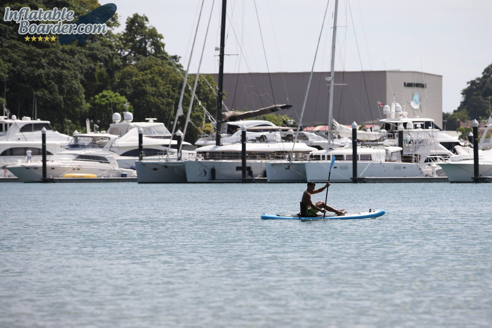 Bluefin SUP Seated Paddling