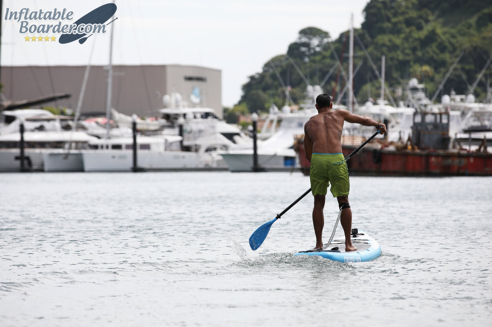 Paddling Bluefin Inflatable SUP