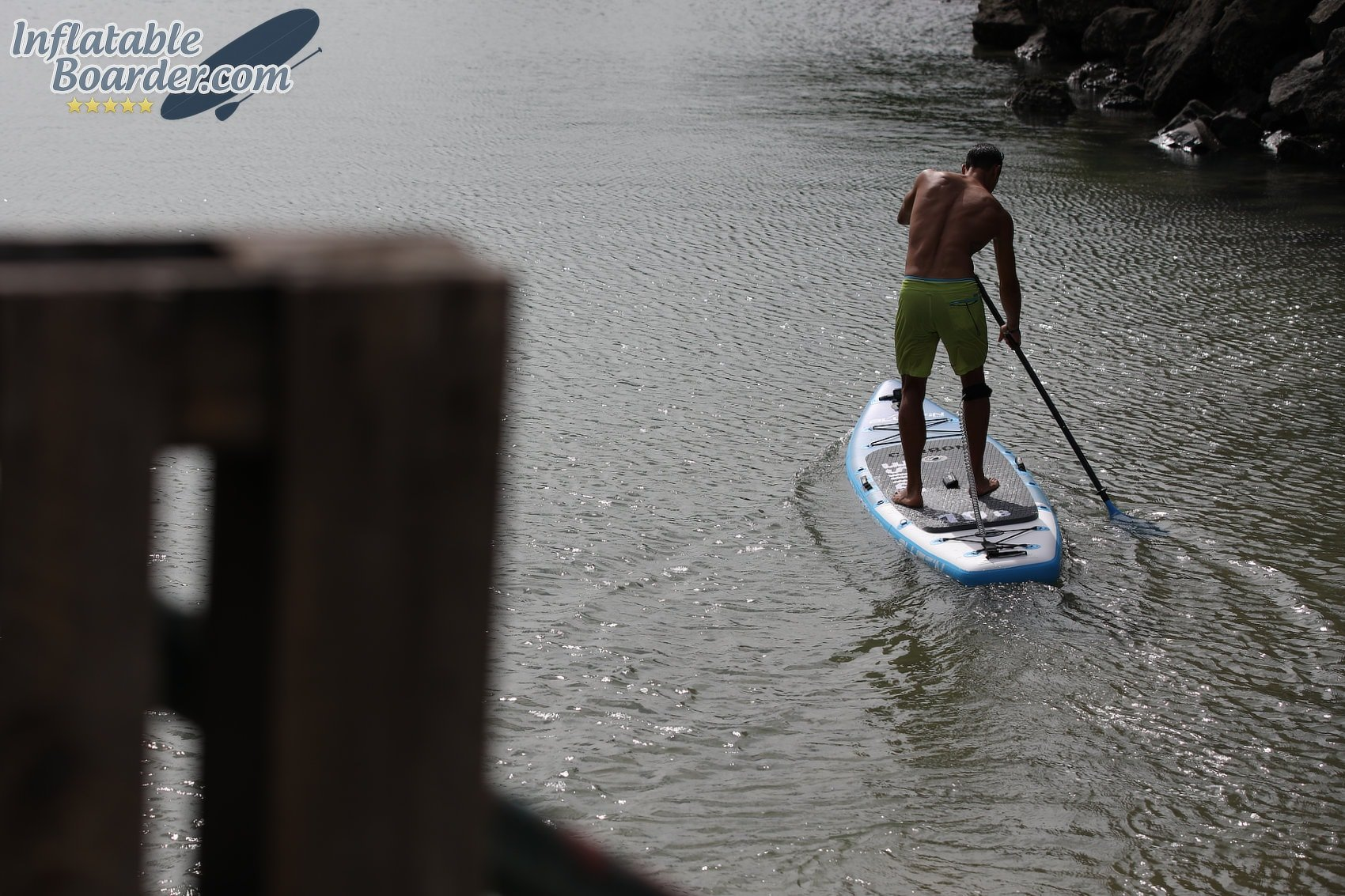 Paddling Bluefin SUP Board