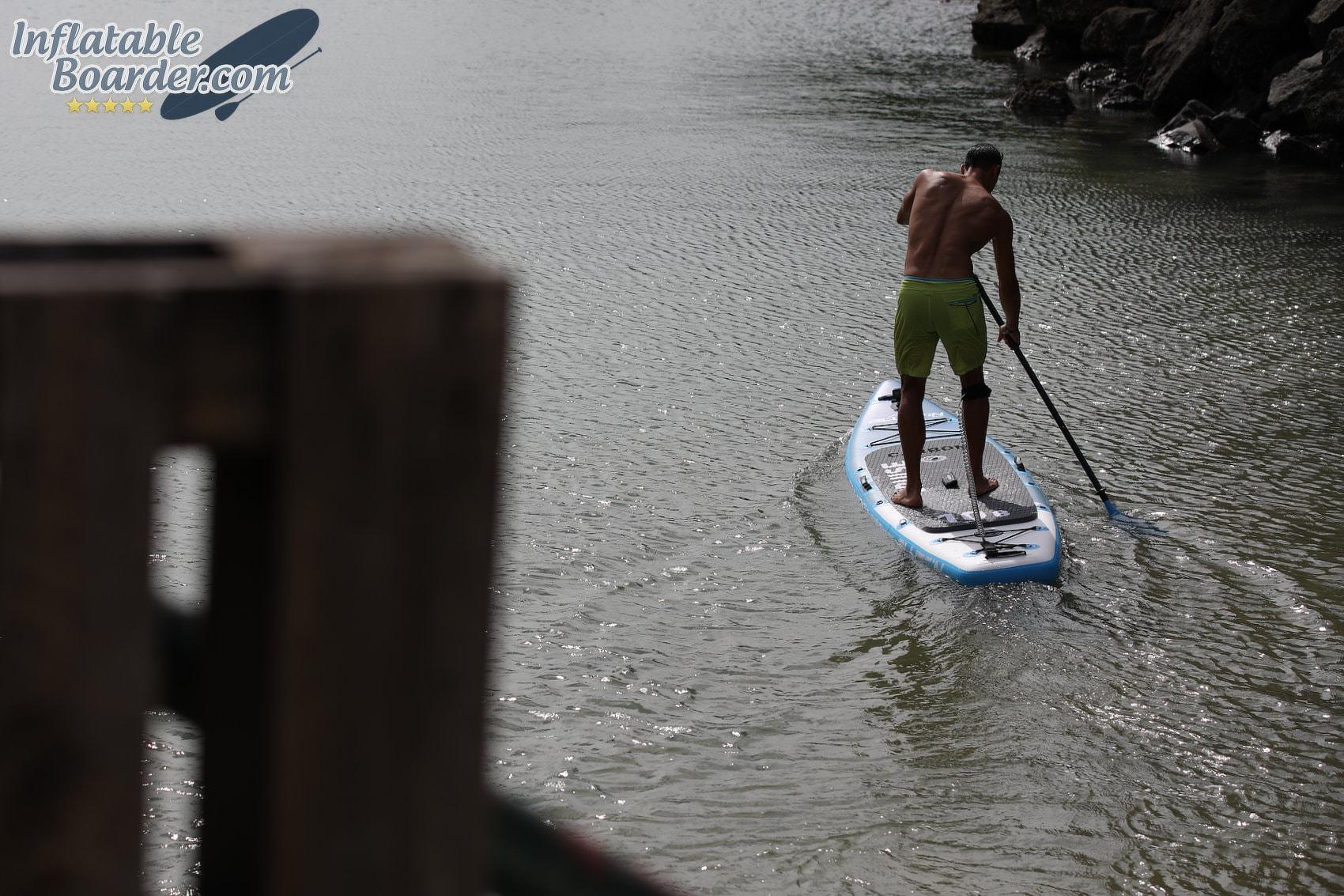 Paddling Bluefin SUP Board
