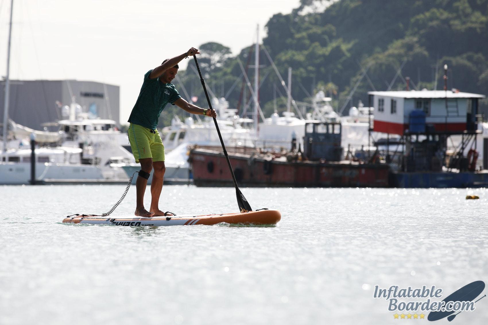 Paddling THURSO WW120 Inflatable Paddle Board